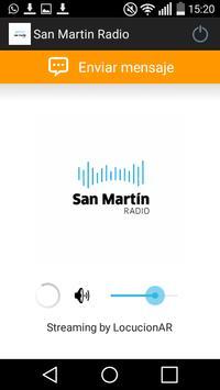 San Martin Radio poster