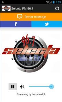 Selecta FM 96.7 poster