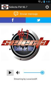 Selecta FM 96.7 screenshot 1