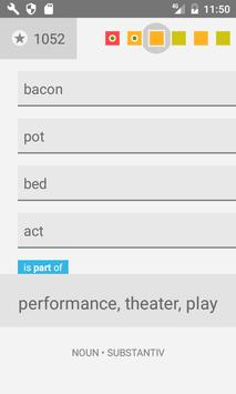 English Vocabulary Trainer apk screenshot