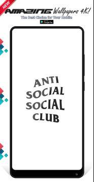 Anti Social Social Club Wallpapers Background screenshot 3