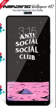 Anti Social Social Club Wallpapers Background screenshot 7