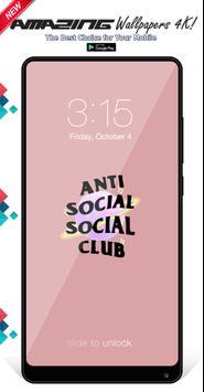 Anti Social Social Club Wallpapers Background screenshot 5