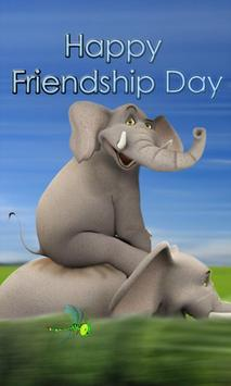 Friendship Day Magical Theme poster