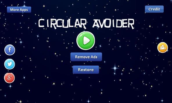 Circular Avoider - asteroids apk screenshot