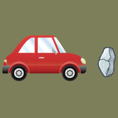 Clear The Road - remove rocks icon
