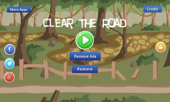Clear The Road - remove rocks apk screenshot