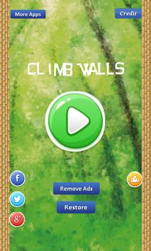 Climb Walls-move to other wall poster