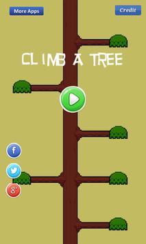 Climb A Tree - high poster
