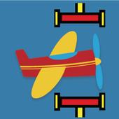 Avoid Hammer - fly forward icon