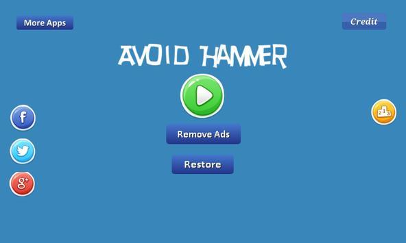 Avoid Hammer - fly forward apk screenshot