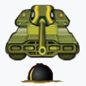 Bombard Tank - explode tank icon