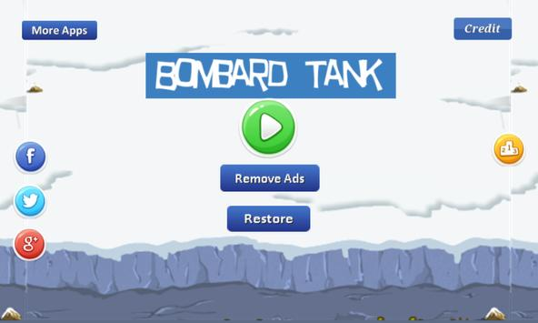Bombard Tank - explode tank poster