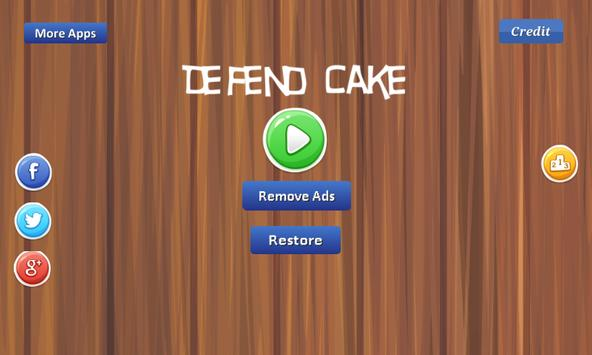 Defend Cake - from bugs apk screenshot