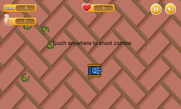 Defend Ground - from zombie apk screenshot