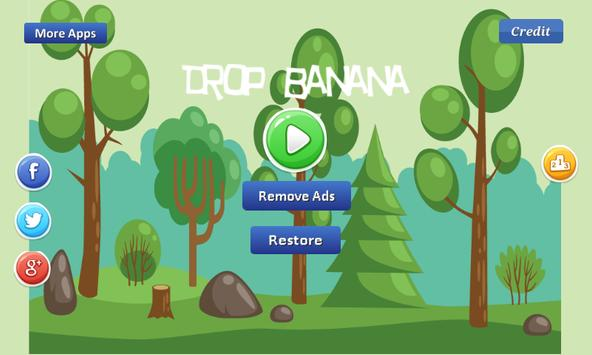 Drop Banana - eat banana apk screenshot
