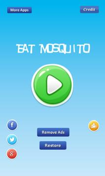 Eat Mosquito - many mosquitos poster