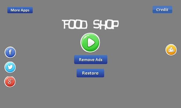 Food Shop - provide the food apk screenshot