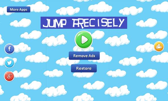 Jump Precisely screenshot 1