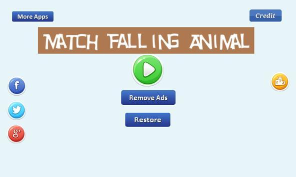 Match Falling Animal screenshot 1
