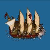 Sea Battle -defeat enemy ships icon
