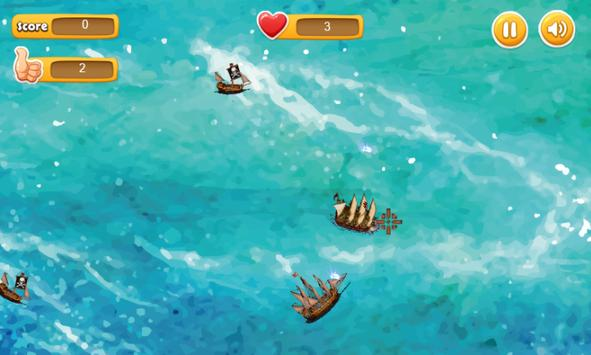 Sea Battle -defeat enemy ships apk screenshot