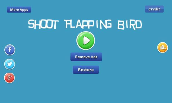 Shoot Flapping Bird - flappy apk screenshot