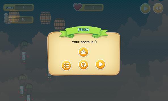 Parachute Invader-break parach apk screenshot
