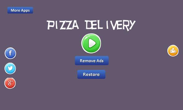 Pizza Delivery - throwing poster