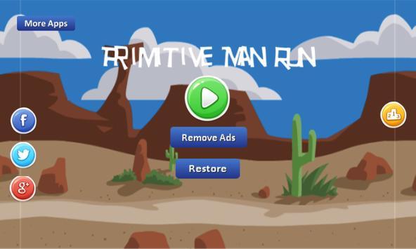 Primitive Man Run-continuously apk screenshot