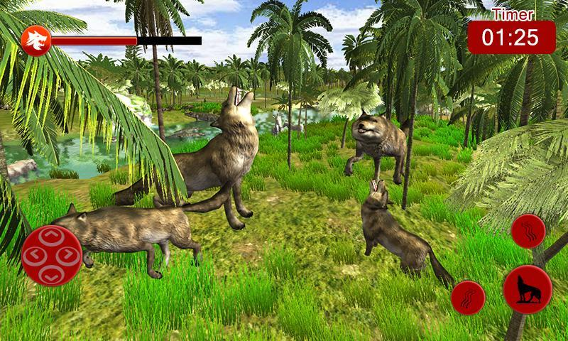 Ultimate Wolf Simulation - Life of Wild family for Android