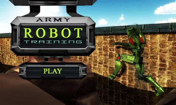 Real Army Robot Training – Steel Fighting Champion poster