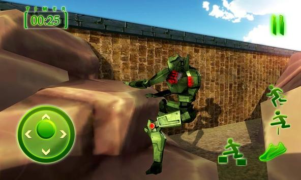 Real Army Robot Training – Steel Fighting Champion screenshot 3