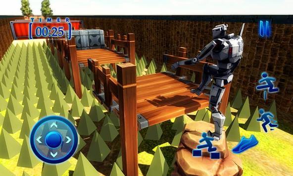 Superhero Spider Robot Run – Survival Training Sim screenshot 3
