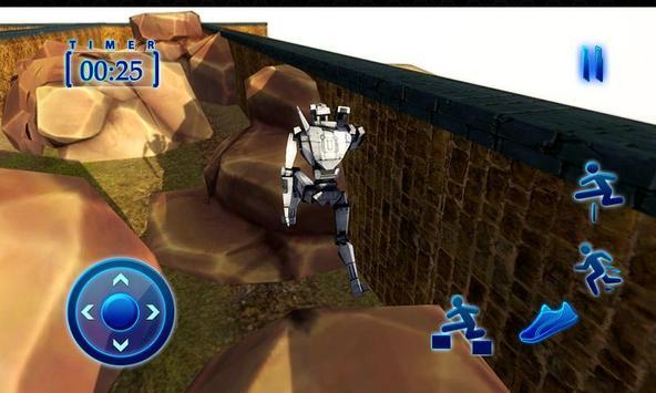 Superhero Spider Robot Run – Survival Training Sim screenshot 2