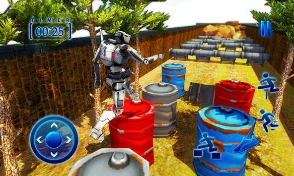 Superhero Spider Robot Run – Survival Training Sim screenshot 5