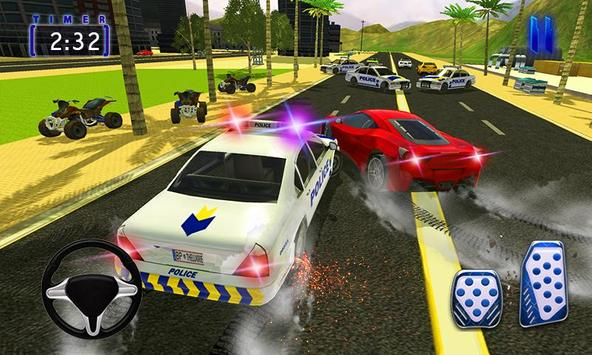 Police Chase Car 3D:Cop Car Driver poster