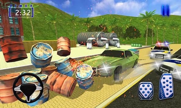 Police Chase Car 3D:Cop Car Driver screenshot 2