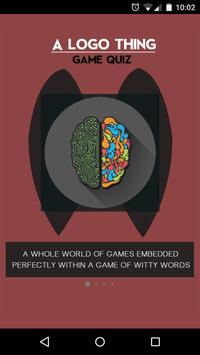 A Logo Thing: Game Quiz poster