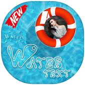 Water Text Photo Frames icon