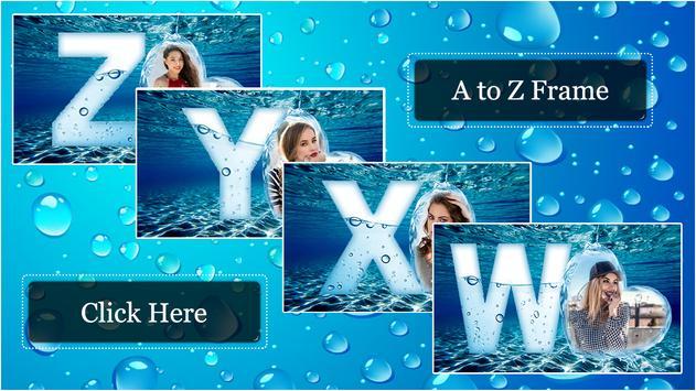 Water Text Photo Frames screenshot 3