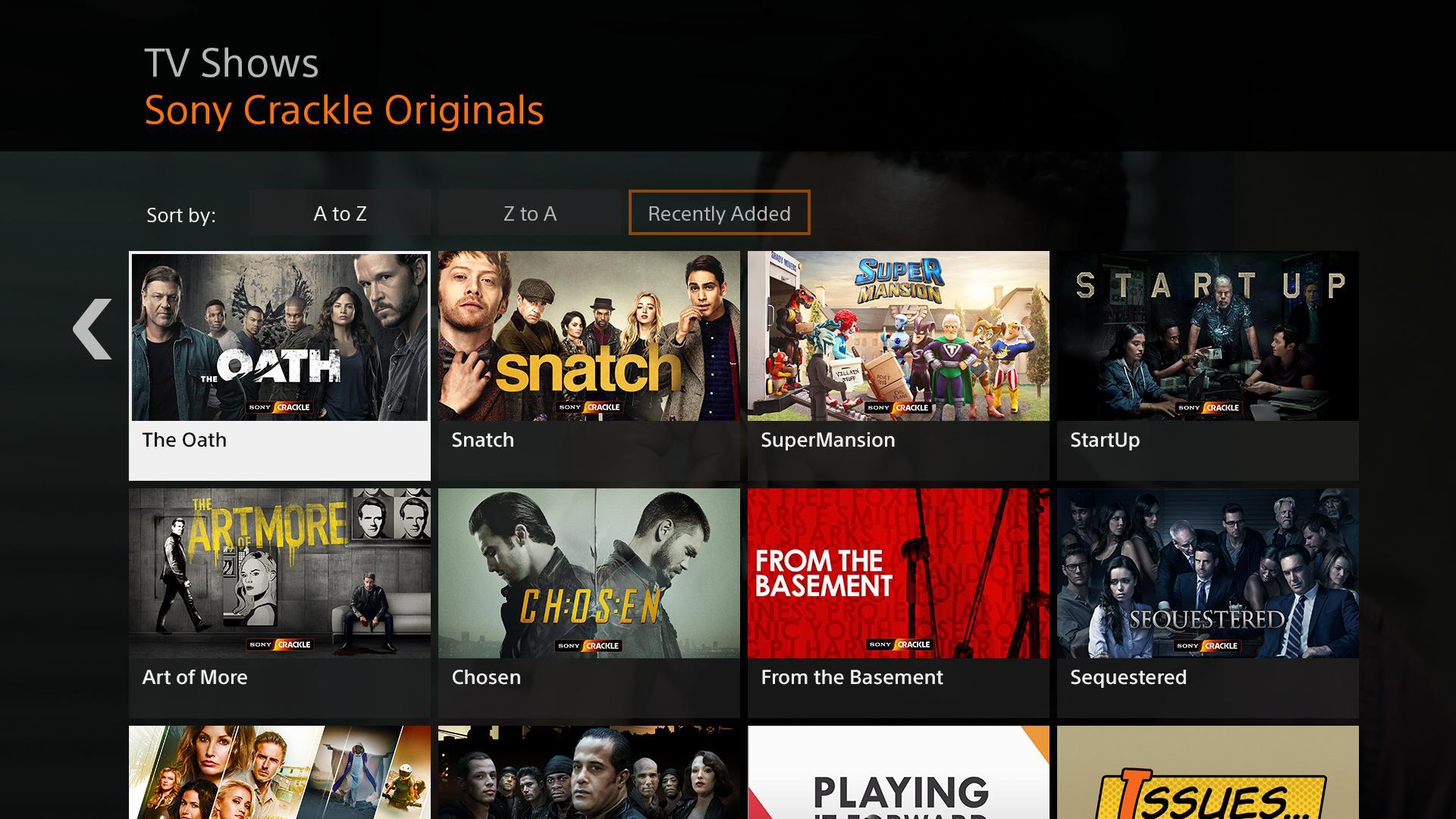 Crackle alternativa Netflix