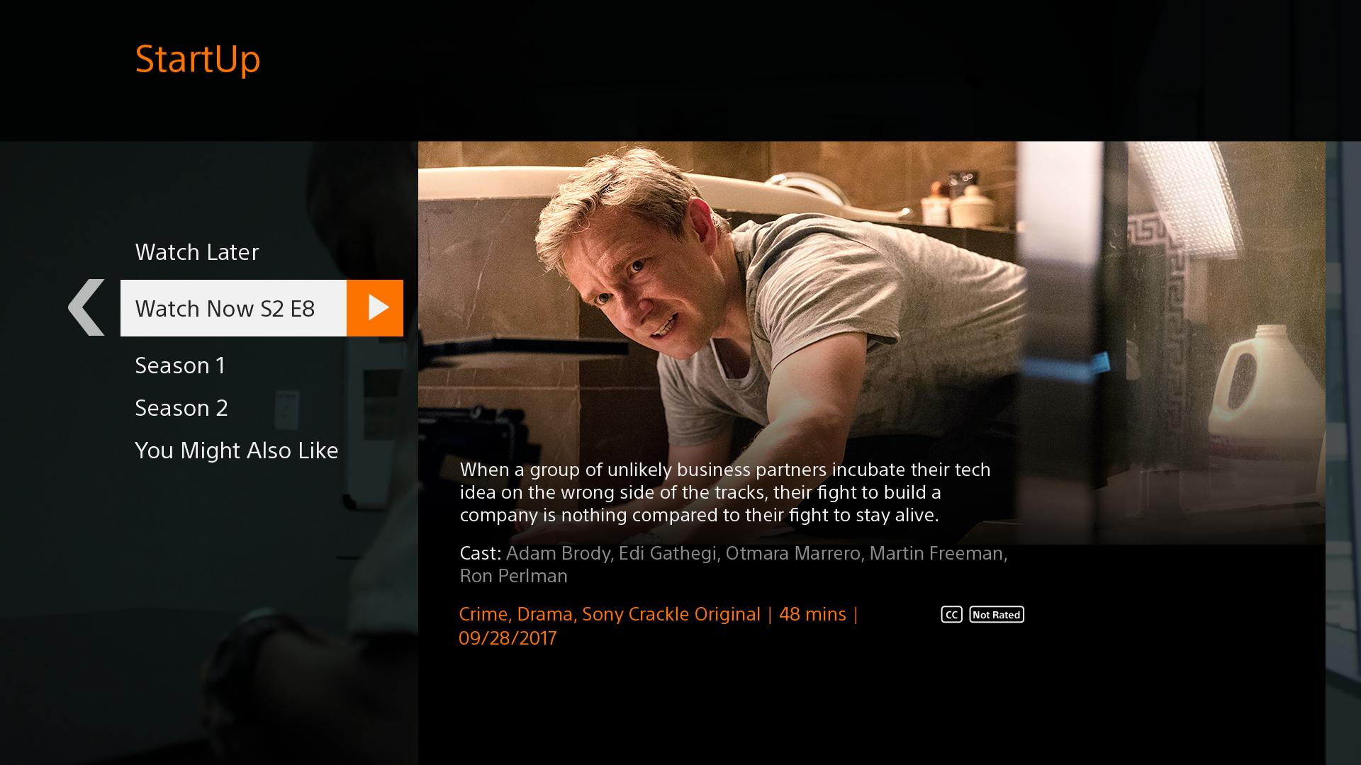Sony Crackle - Free Movies & TV for Android - APK Download