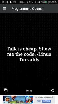 Programmers Quotes apk screenshot