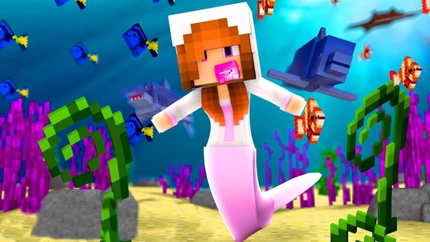 Mermaid Skins For Minecraft PE Free APK Download Free Books - Skins para minecraft pe 0 15 2