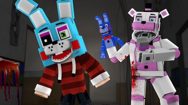 Skins for Minecraft PE - FNAF poster