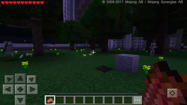 Zombie Apocalypse Minecraft Addon poster