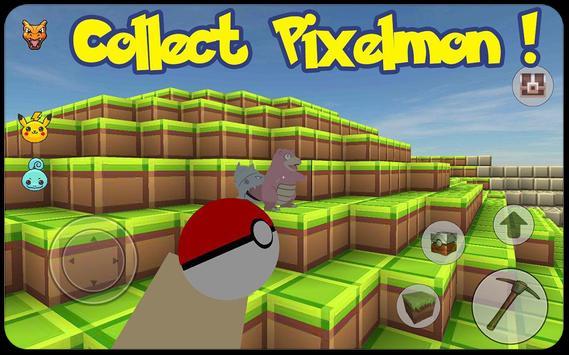 Craft build: Go mine pixelmon2 apk screenshot