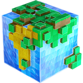 WorldCraft : 3D Build & Craft ícone