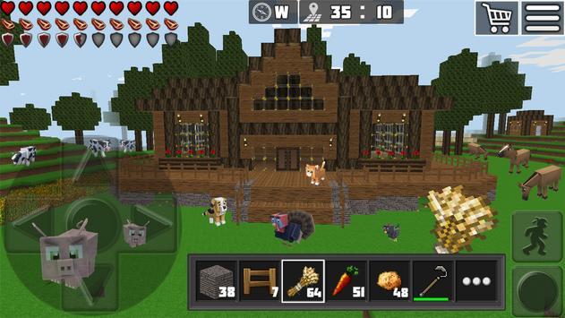 9 Schermata WorldCraft : 3D Build & Craft